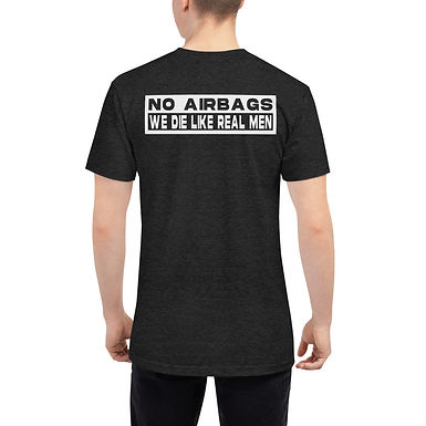 No Airbags Unisex Tri-Blend Track Shirt