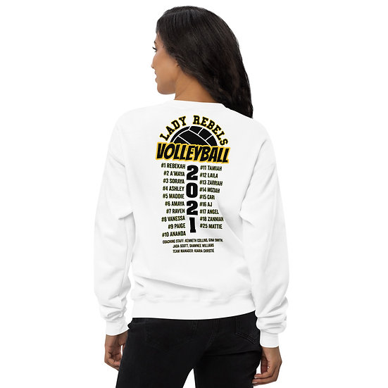 2021 Lady Rebels Team Unisex fleece sweatshirt