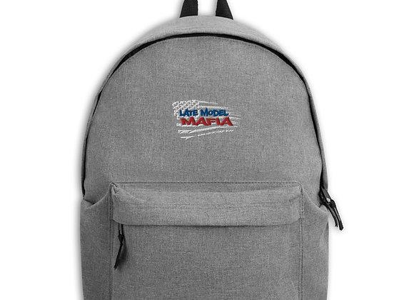Late Model Mafia - Embroidered Backpack
