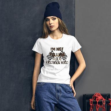 I'm not yelling - Women's short sleeve t-shirt