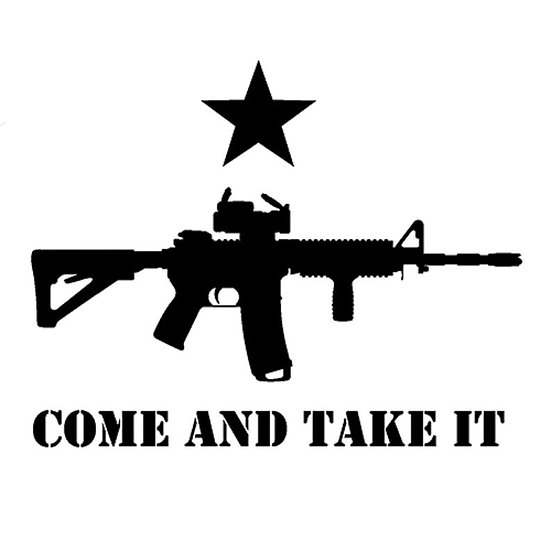 Come And Take It Vinyl Decal