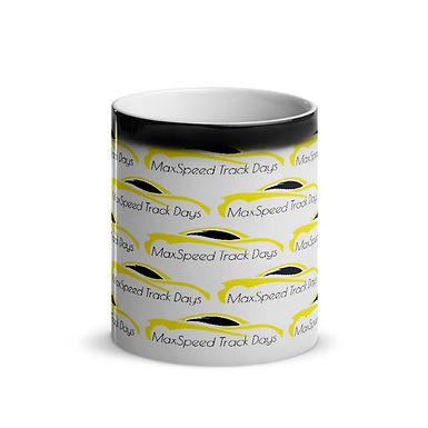 MaxSpeed Track Days Glossy Magic Mug