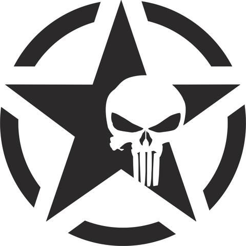 Star Punisher Skull