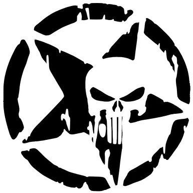 Star Punisher Skull