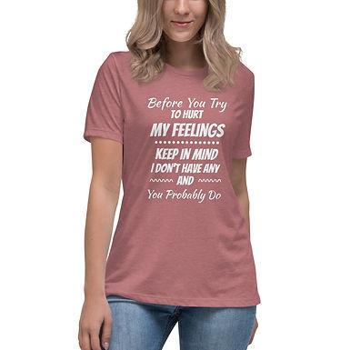Feelings - Women's Relaxed T-Shirt