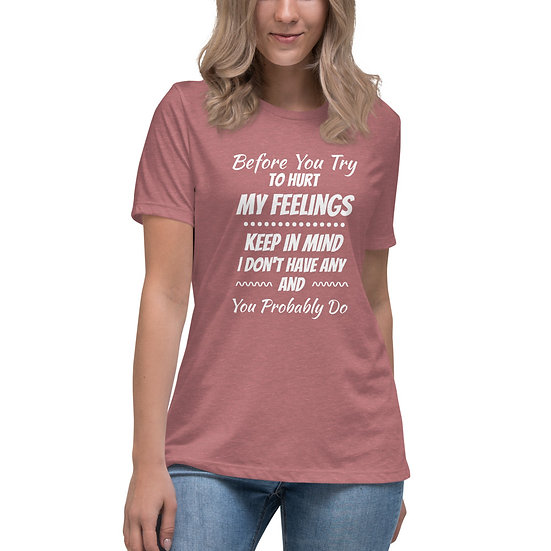 Feelings - Women's Relaxed T-Shirt