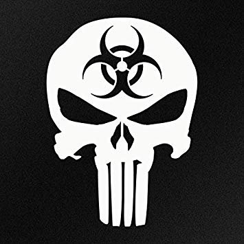 Bio Hazard Punisher Skull