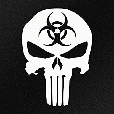 Bio Hazard Punisher Skull
