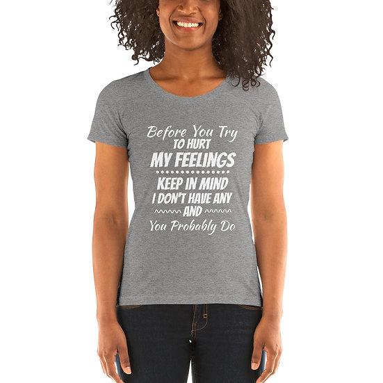 Feelings - Ladies' short sleeve t-shirt