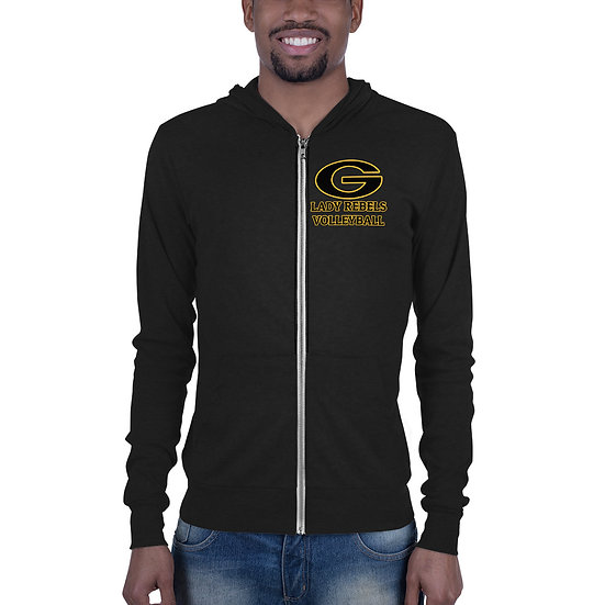 Lady Rebels Volleyball Unisex zip hoodie