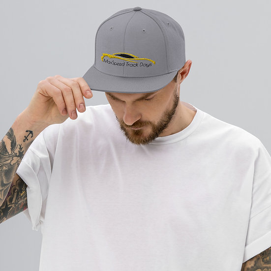 MaxSped Track Days Snapback Hat