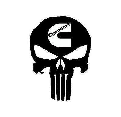 Cummins Punisher Skull