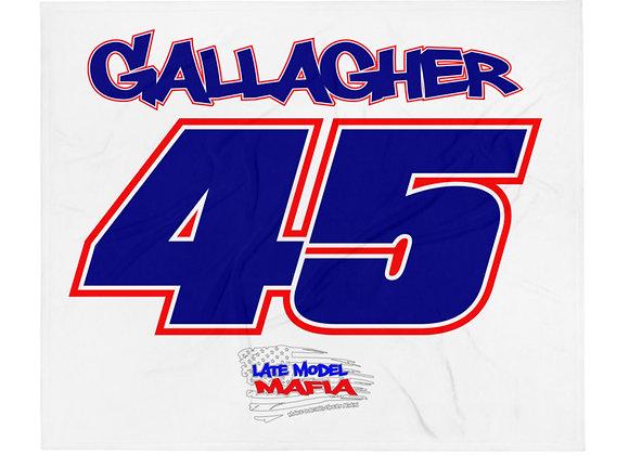 45 - Late Model Mafia - Gallagher - Throw Blanket