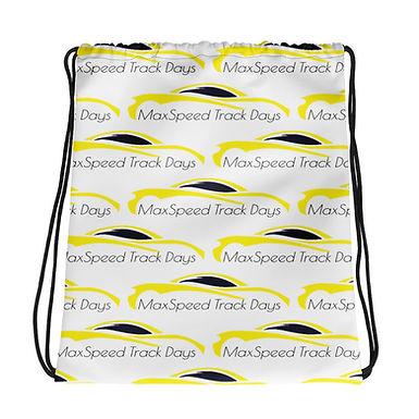 MaxSpeed Track Days Drawstring bag
