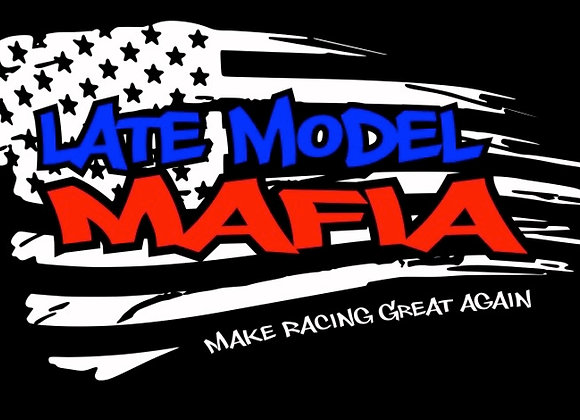 "Official ""Late Model Mafia"" Tri-color Vinyl Decal"