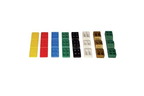 CALZOS PVC PARA ACRISTALAR 20X100 (VARIOS GROSORES)