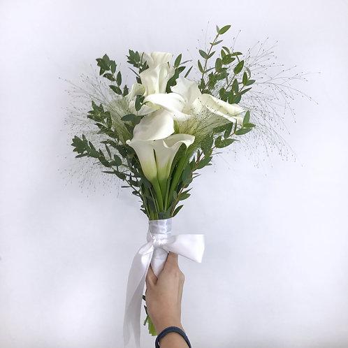 Elegant Calla Lily Bridal Bouquet