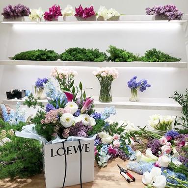 Private Workshop at #Loewe yesterday 💕☺