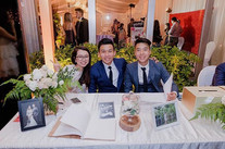 Reception table floral decoration 🌹🌹🌹