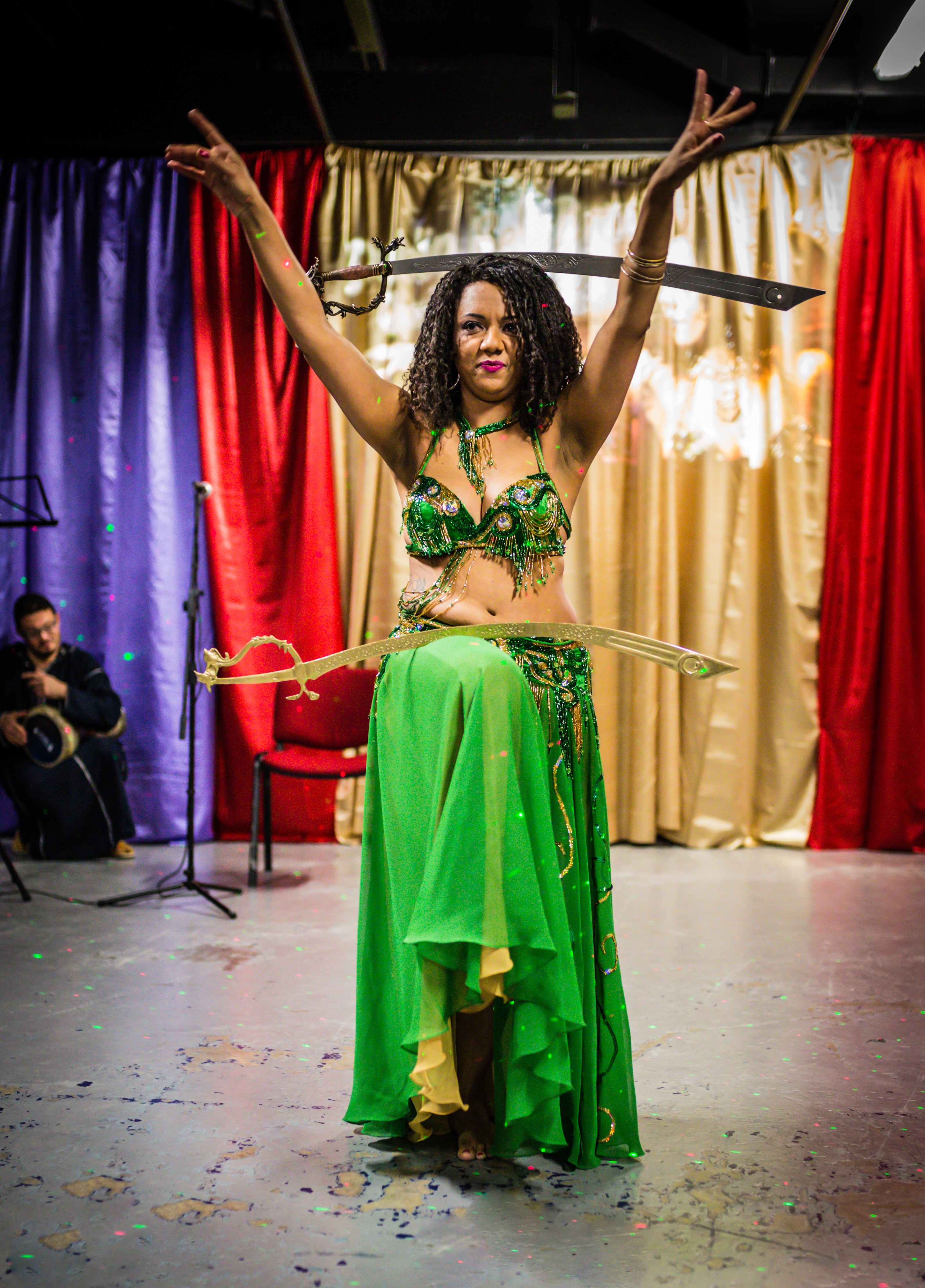 Belly Dance with Swords