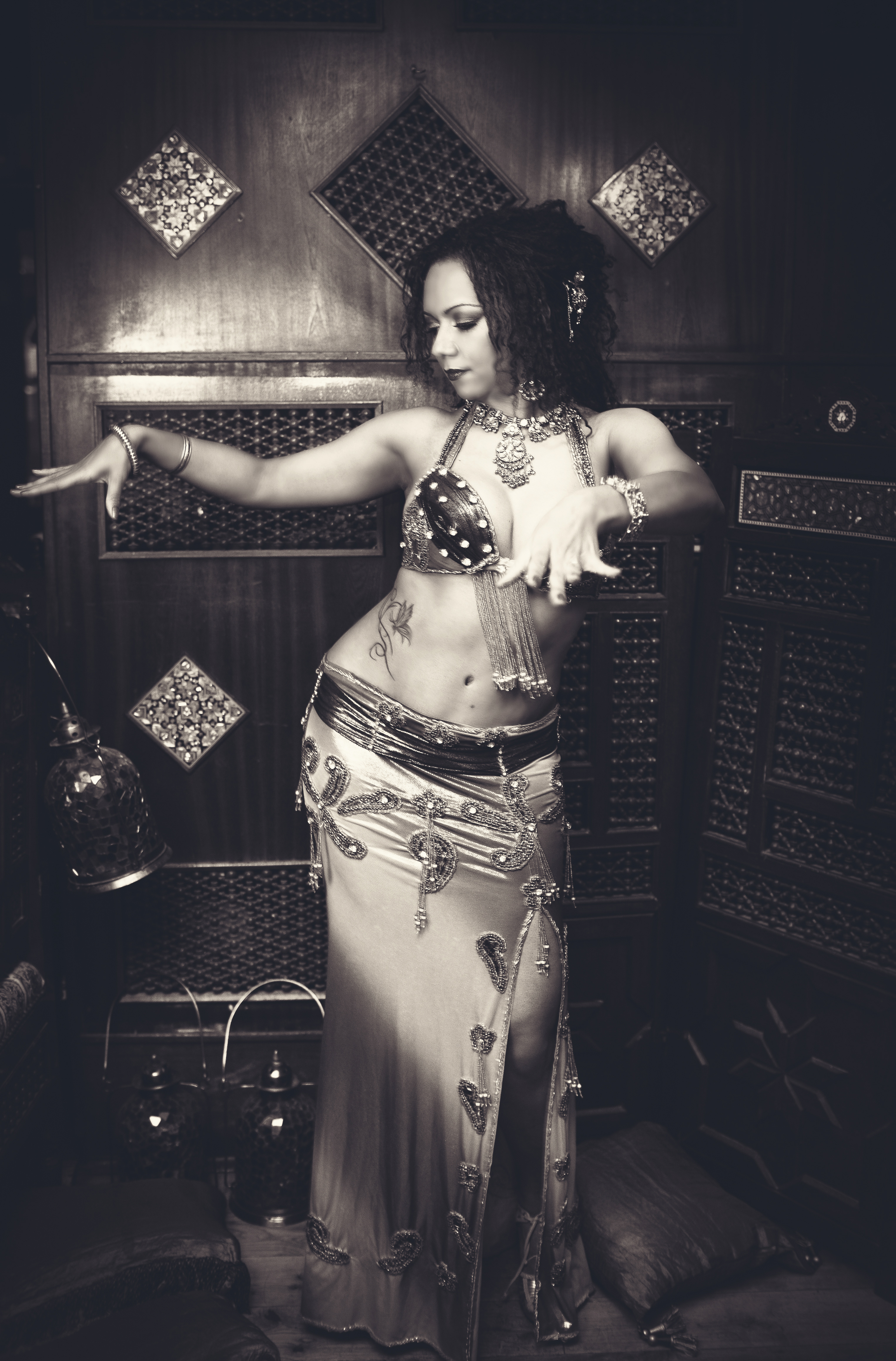Belly dance percussion fusion