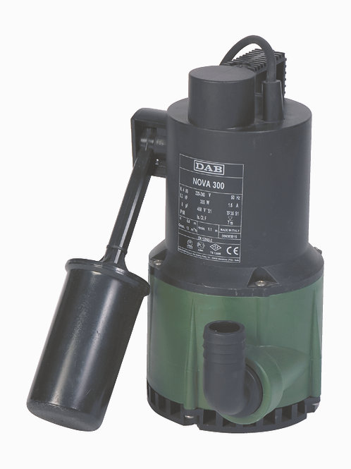 DAB NOVA 300A - Submersible Pump with Float