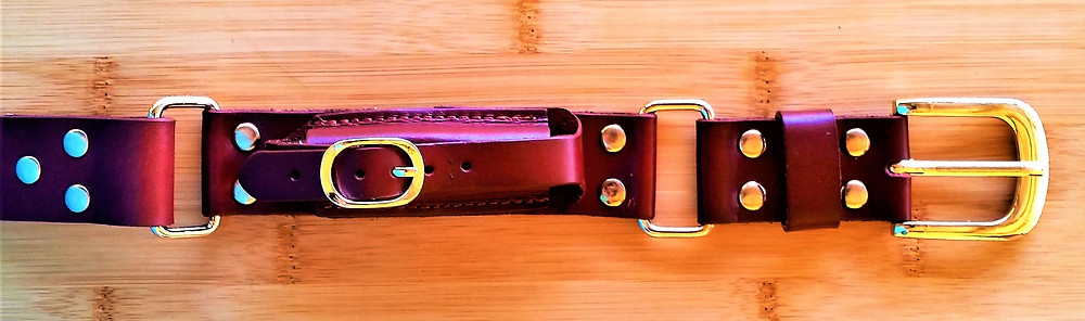 leather hobble belt