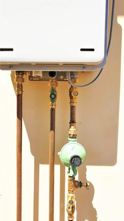Rinnai gas hot water installation
