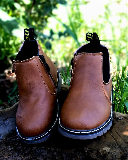 Kids Zip-Up Boots