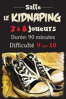 Kidnapping, jeu évasion