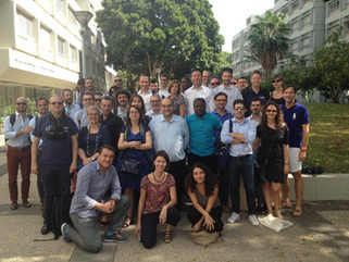 """French business school alumni visited TheHive accelerator as part of a """"Startup Nation Tour&quo"""