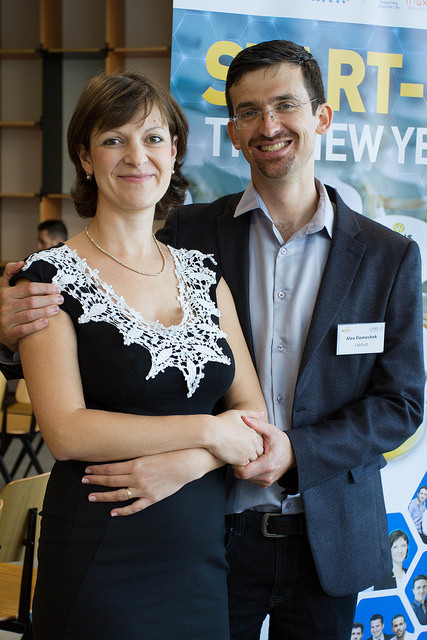 Alex and Helen Domeshek, Labsuit' founders.