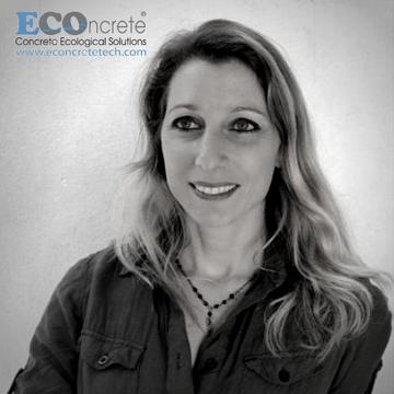 Portrait of Shimrit Perkol Finkel, ECOncrete CEO and GreenPitch winner.