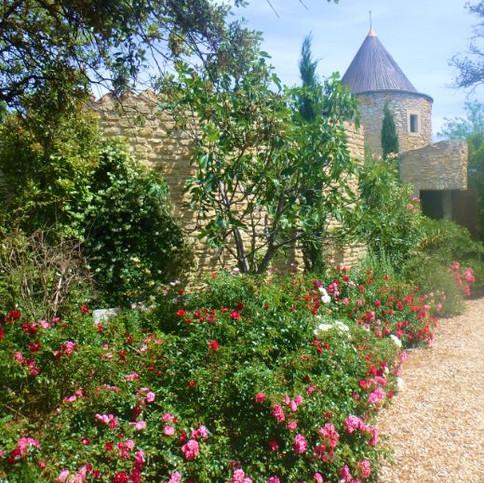 8 -Chemin fleuri vers moulin.JPG