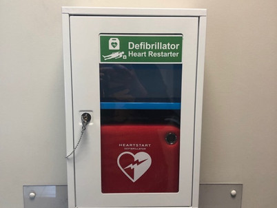 PRM Group installs Life-saving Defibrillator to Lisburn site