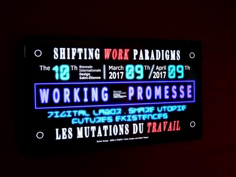 Panneaux de la Biennale