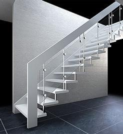 Treppe gerade