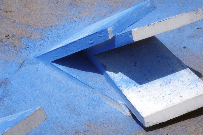 Sessions in Blue, detail