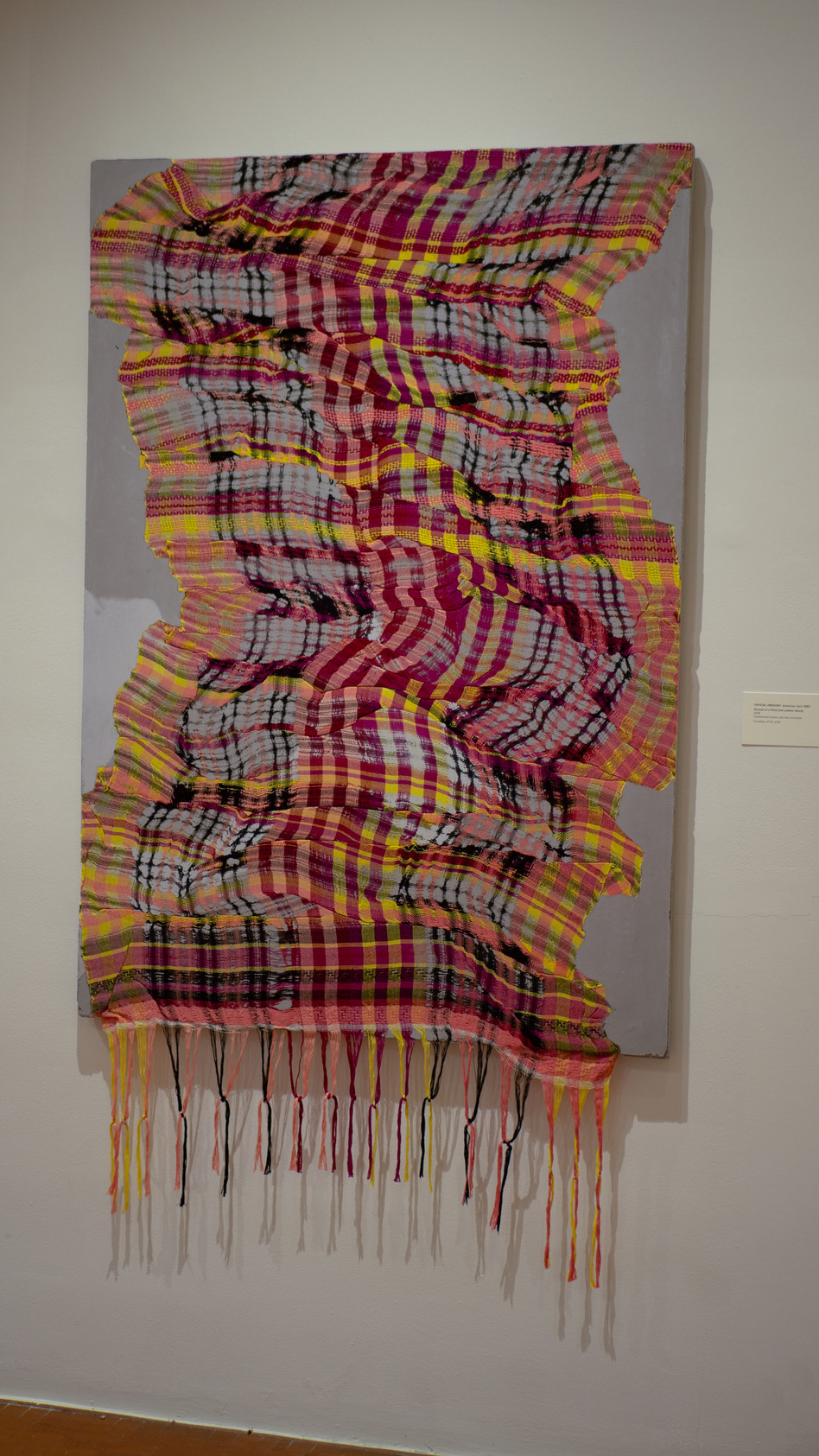 Portrait of a Plaid (red-yellow-black)