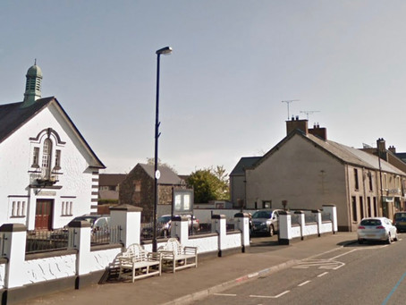 Opinion to approve planning for alteration and church hall extension at First Broughshane