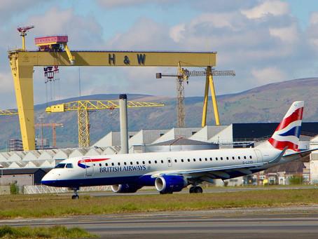 British Airways extends it's UK schedule from Belfast this winter