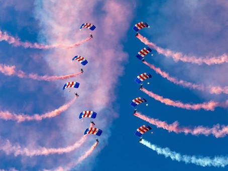 RAF Falcons parachute display cancelled at Balmoral