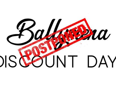 Ballymena's Discount Day 'postponed'