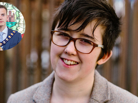 Mayor of Mid and East Antrim pays tribute to Lyra McKee