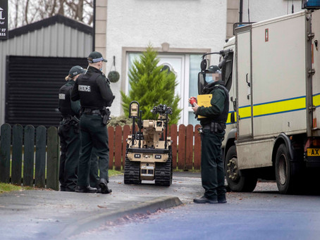 Pipe bombs discovered in County Antrim security alert