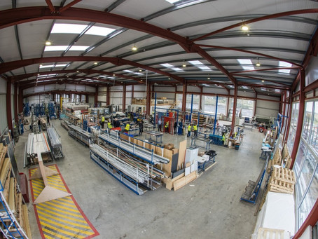 Mid and East Antrim firm opens doors to prosperous future