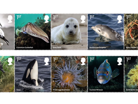 Royal Mail explores the waters of the UK with the beautiful Wild Coasts stamp issue