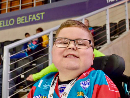 SUPPORT | Wheely great adventures for Ballymena lad Ethan McClean