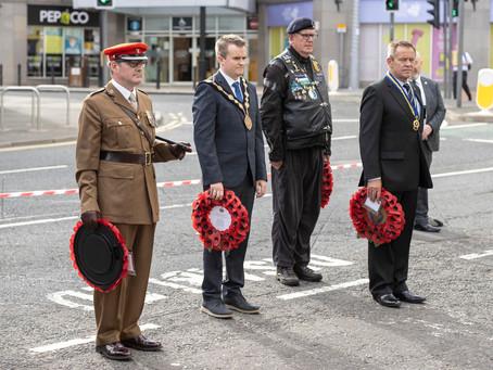 Lisburn remembers soldiers killed in half-marathon bomb attack