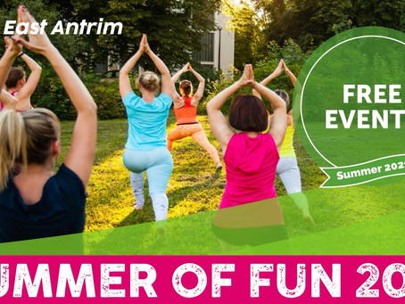 Something for everyone with 'summer of fun' across Mid & East Antrim